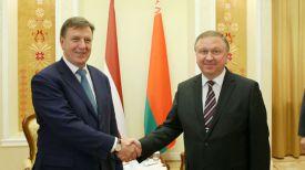 Марис Кучинскис и Андрей Кобяков