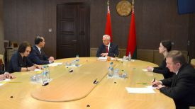 Во время встречи. Фото с сайта Совета Республики