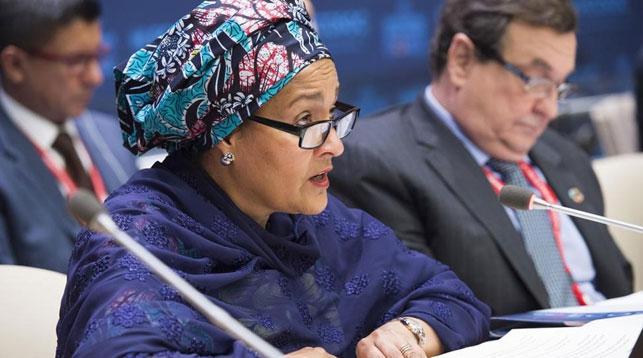 Амина Мохаммед. Фото с сайта Центр новостей ООН