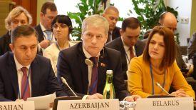 Болеслав Пирштук во время встречи. Фото Палаты представителей