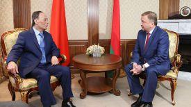 Ван Цишань и Андрей Кобяков