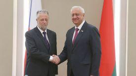 Франтишек Бублан и Михаил Мясникович