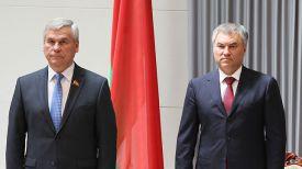 Владимир Андрейченко и Вячеслав Володин