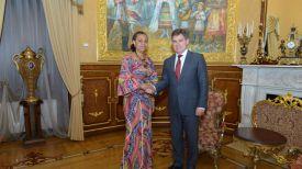 Во время встречи. Фото Посольства Республики Беларусь в Российской Федерации