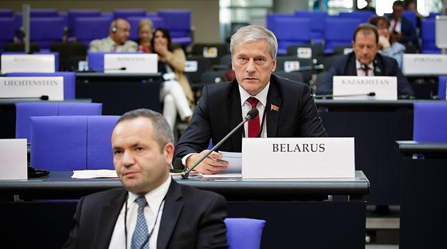 Болеслав Пирштук (в центре). Фото Палаты представителей
