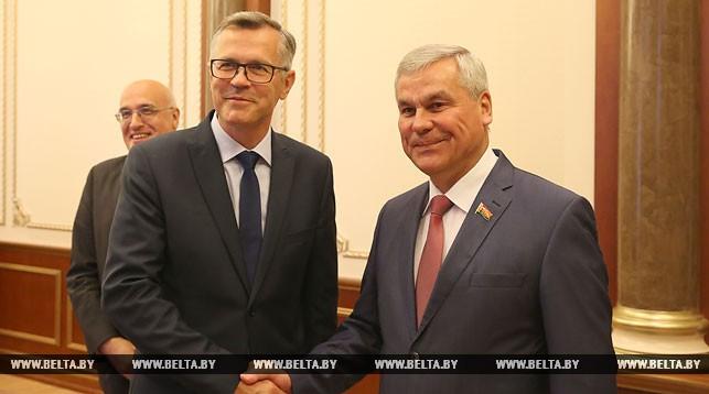 Айнарс Латковскис и Владимир Андрейченко