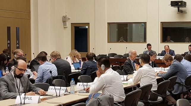 Фото постоянного представительства Беларуси при отделении ООН и других международных организациях в Женеве