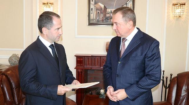 Михаил Бабич и Владимир Макей. Фото МИД