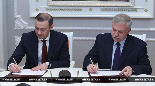 Армен Григорян и Станислав Зась