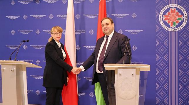 Рената Щенх и Евгений Шестаков. Фото МИД