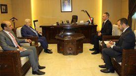 Во время встречи. Фото посольства Беларуси в Сирии