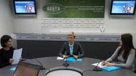 Татьяна Рыбак (в центре)