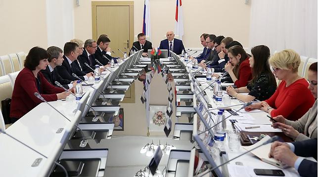 Во время переговоров. Фото Министерства сельского хозяйства России