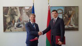 Во время встречи. Фото МИД Беларуси