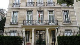 Посольстве Беларуси во Франции. Фото из архива
