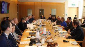 Во время заседания совместного белорусско-израильского комитета по торговому и экономическому сотрудничеству