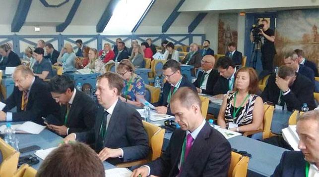 Во время Дня финансовых институтов Беларусбанка. Фото Беларусбанка