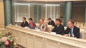 Во время встречи. Фото пресс-службы Беларусбанка
