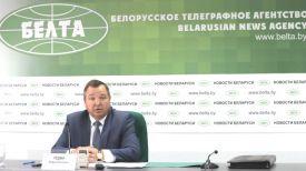 Андрей Худык во время пресс-конференции