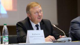 Андрей Кобяков во время семинара по развитию цифровой экономике