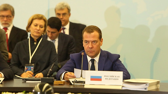Дмитрий Медведев. Фото Совета Министров