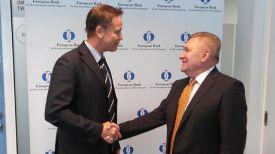 Во время встречи. Фото посольства Беларуси в Брюсселе