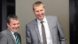 Сергей Веркашанский и Дмитрий Крутой. Фото Министерства экономики