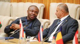 Во время встречи с торговыми советниками дипломатических представительств