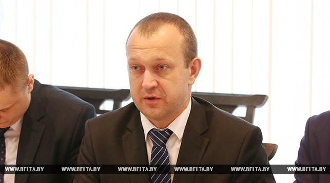 Заместитель министра сельского хозяйства и продовольствия Беларуси Иван Смильгинь