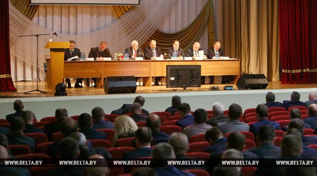 Во время семинара-совещания