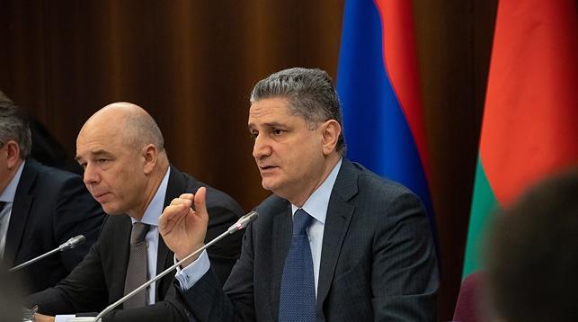 Председатель Коллегии Евразийской экономической комиссии Тигран Саркисян. Фото ЕЭК