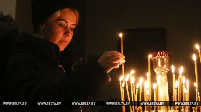 Рождественский сочельник в Свято-Духовом кафедральном соборе в Минске
