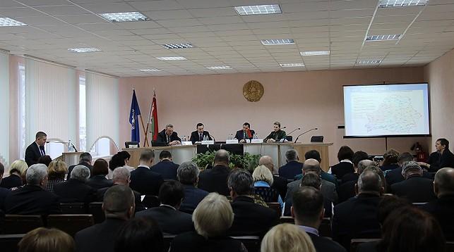 Во время заседания. Фото Министерства природных ресурсов и охраны окружающей среды