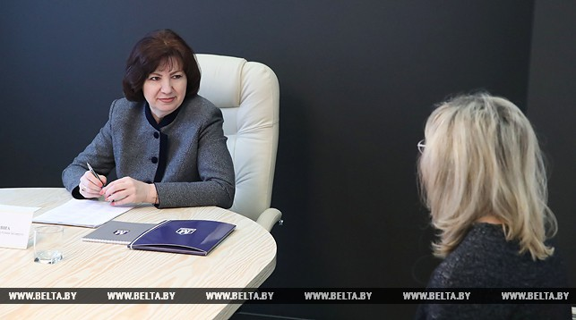 На приеме Татьяна Устинова