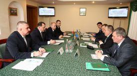 Во время встречи. Фото Госпогранслужбы Украины