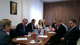 Во время встречи. Фото Государственного комитета по имуществу
