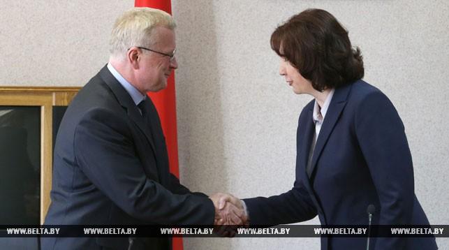 Геннадий Пальчик и Наталья Кочанова