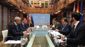 Во время встречи. Фото посольства Беларуси в Испании