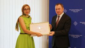 Жанна Котлярова и Владимир Макей. Фото МИД