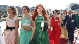 Участники бала. Фото из архива