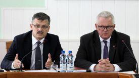 Сергей Ковальчук и Игорь Карпенко. Фото Министерства спорта и туризма