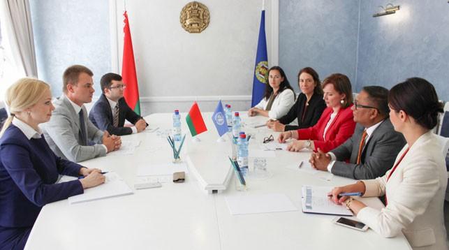 Во время встречи. Фото Министерства юстиции