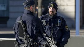 Полиция Швеции. Фото AFP