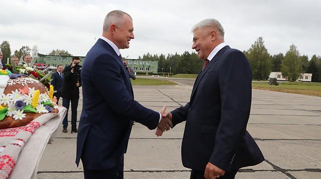 Игорь Шуневич и Владимир Колокольцев. Фото МВД