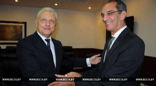 Сергей Рачков и Амр Талаат. Фото посольства Беларуси в Египте