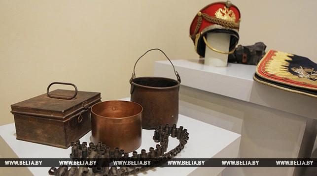 Экспонаты времен Первой мировой войны. Фото из архива