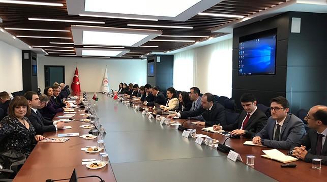 Во время заседания. Фото посольства Беларуси в Турции
