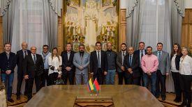 Участники встречи. Фото БГУ