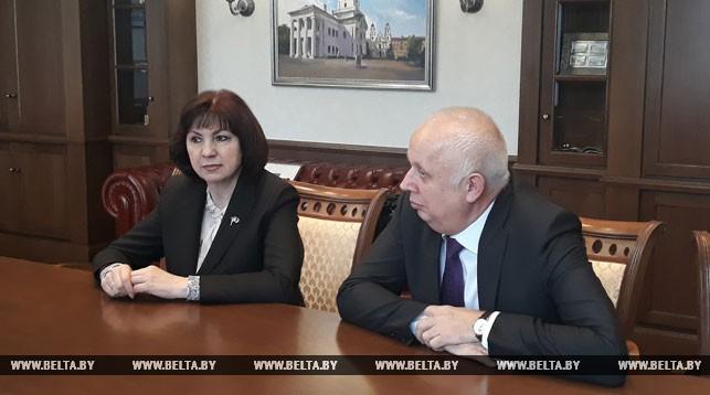 Наталья Кочанова и Анатолий Сивак
