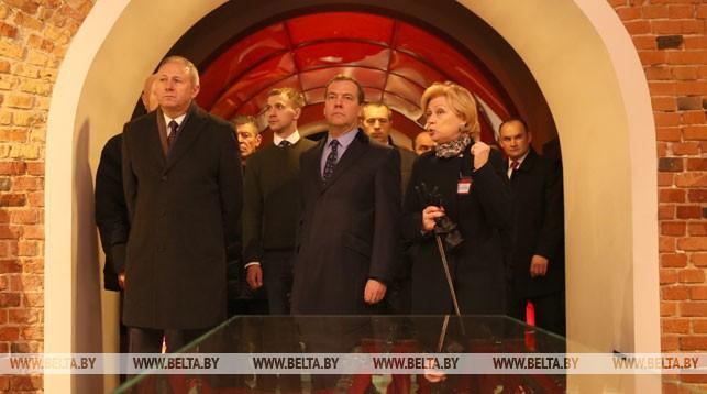 Каждое посещение Брестской крепости оставляет неизгладимое впечатление - Медведев